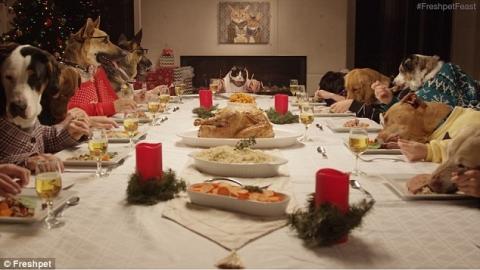 cena cani natale