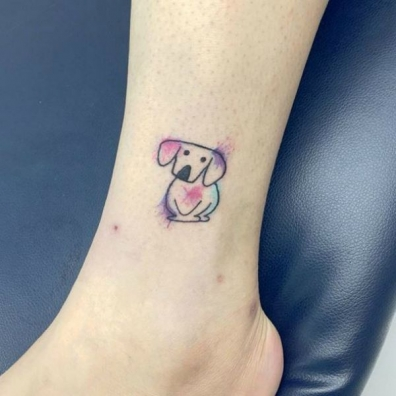 Little-watercolor-dog-tattoo